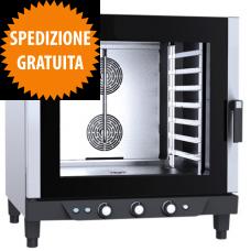 Forno a Gas Gastronomia CHEFLUX™ a Convezione-Umidità Manuale 7 Teglie GN 1/1
