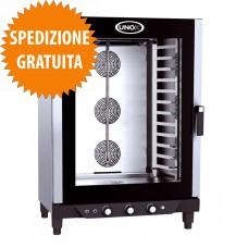 Forno Elettrico Gastronomia CHEFLUX™ a Convezione-Umidità Manuale 12 Teglie GN 1/1