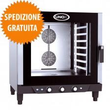 Forno Elettrico Gastronomia CHEFLUX™ a Convezione-Umidità Manuale 7 Teglie GN 1/1