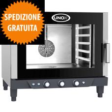 Forno Elettrico Gastronomia CHEFLUX™ a Convezione-Umidità Manuale 5 Teglie GN 1/1
