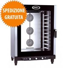 Forno Elettrico Pasticceria BAKERLUX™ a Convezione-Umidità Manuale 10 Teglie cm 60x40