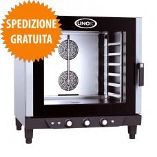 Forno Elettrico Pasticceria BAKERLUX™ a Convezione-Umidità Manuale 6 Teglie cm 60x40